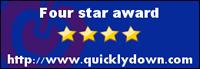 Four star award http://www.quicklydown.com