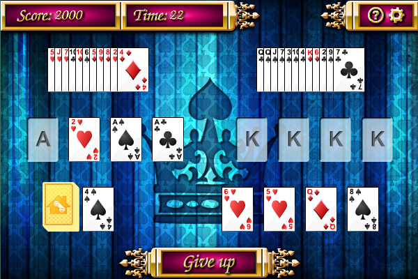 Click to view Aces and Kings Solitaire screenshots