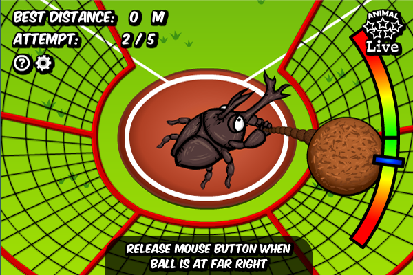 Animal Olympics - Hammer Throw full screenshot