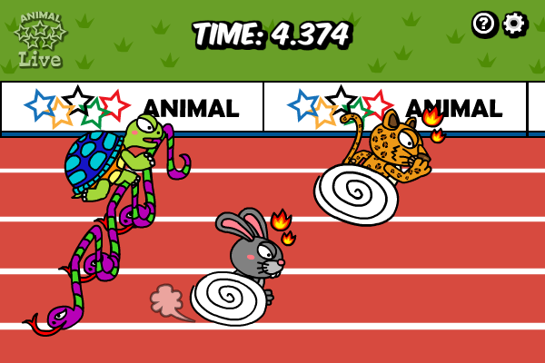 Click to view Animal Olympics - Hurdles screenshots