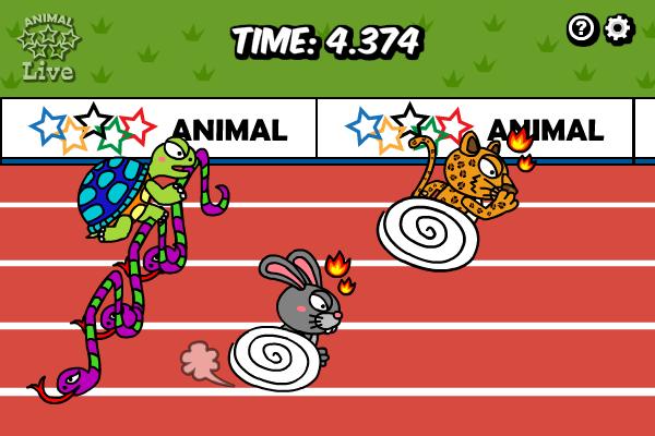 Animal Olympics - Hurdles full screenshot