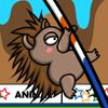 Олимпийские игры для животных — Прыжки с шестом