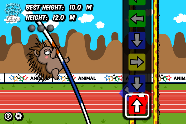 Click to view Animal Olympics - Pole Vault screenshots