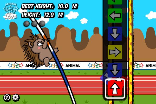 Animal Olympics - Pole Vault full screenshot