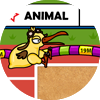 動物オリンピック - 三段跳び