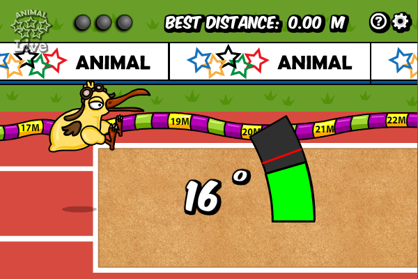 Animal Olympics - Triple Jump full screenshot
