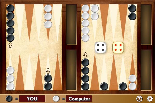 Multiplayer Backgammon screenshot