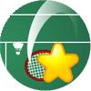 星星羽毛球