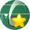 Sternen-Badminton