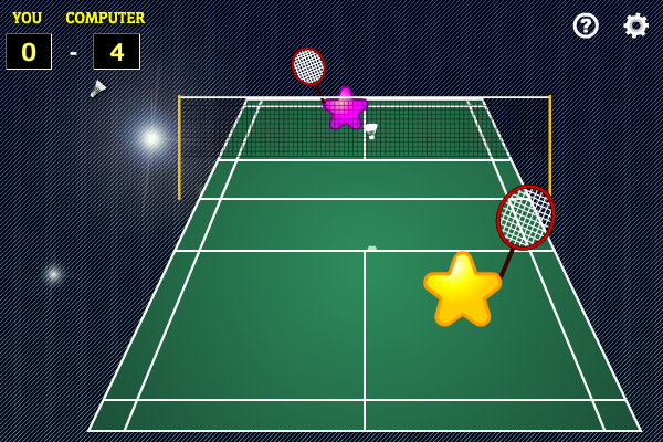 Star Badminton screenshot