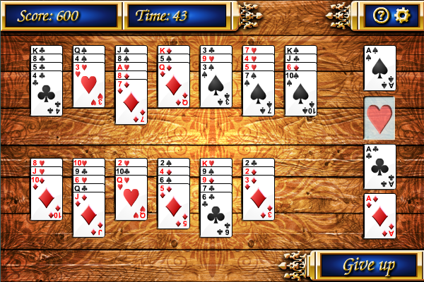Click to view Baker's Dozen Solitaire screenshots