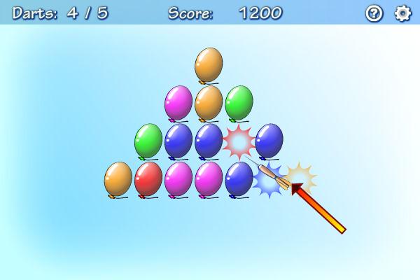 Balloons screenshot