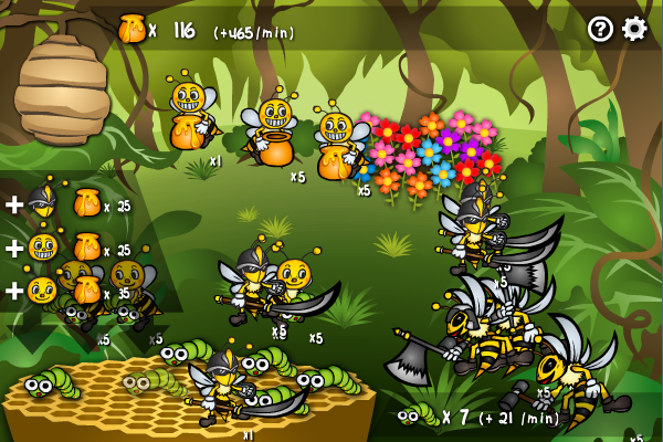 Click to view Bee Empire screenshots