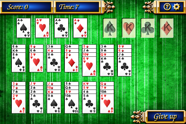 Click to view Bisley Solitaire screenshots