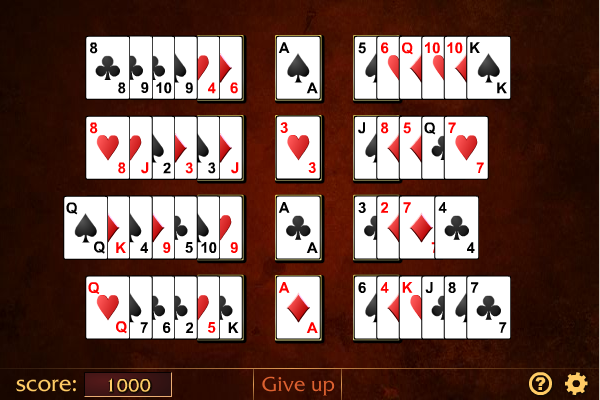 Click to view Beleaguered Castle Solitaire screenshots