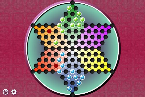 Multiplayer Chinese Checkers screenshot