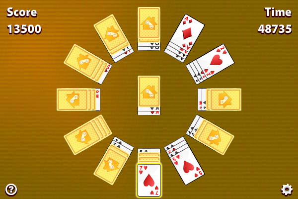 Click to view Clock Solitaire screenshots