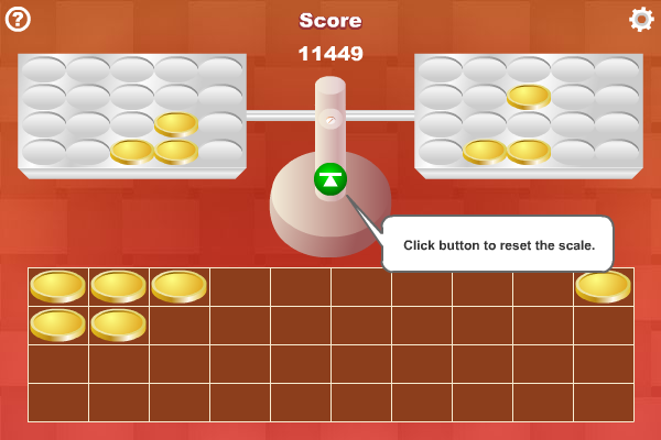 Screenshot of Coin Weighing