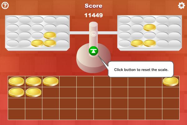 Coin Weighing screenshot