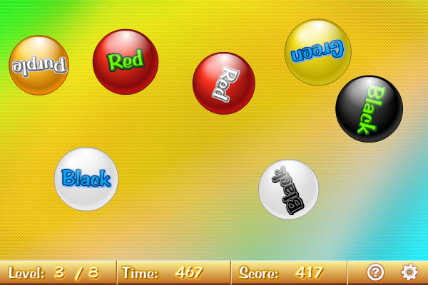 Click to view Colour Balls 1.2.0 screenshot