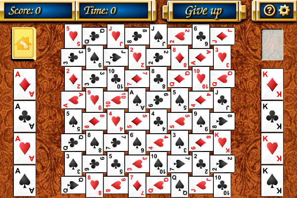 Click to view Crazy Quilt Solitaire screenshots