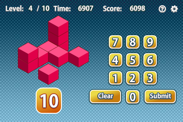 Count the Cubes screenshot