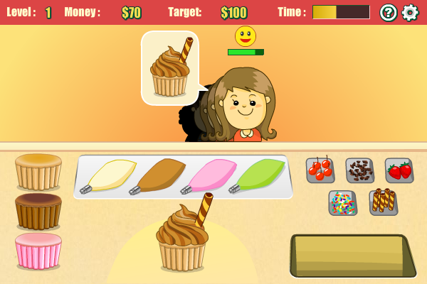 Click to view Cupcake Frenzy screenshots
