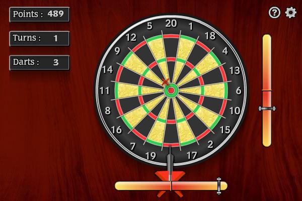 Darts screenshot: darts, dart, pub games, action games