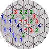 10각형 지뢰찾기