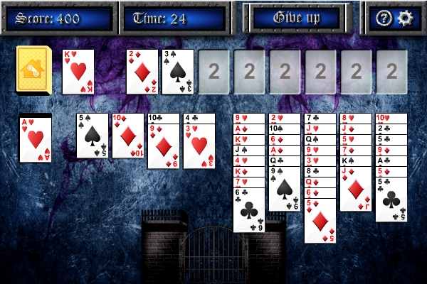 Click to view Demons and Thieves Solitaire screenshots