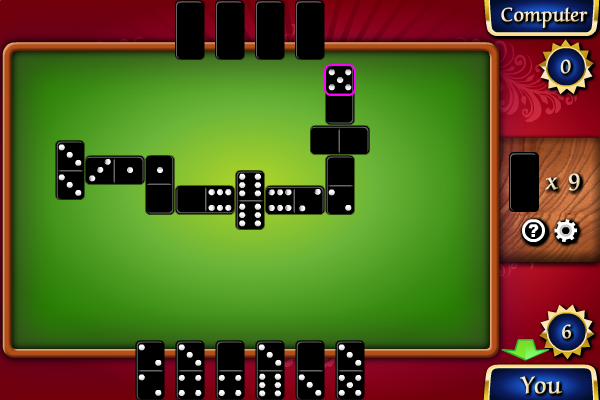 Click to view Dominoes screenshots