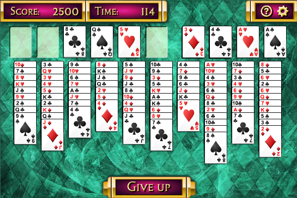 Click to view Double Freecell Solitaire screenshots