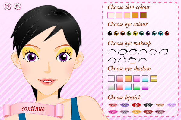Click to view Dress Up Time screenshots