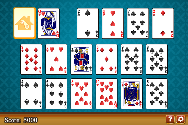 Click to view Easy Go Solitaire screenshots