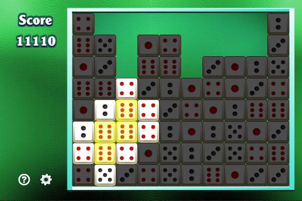 five dice, dice, poker, action puzzle games, puzzle games