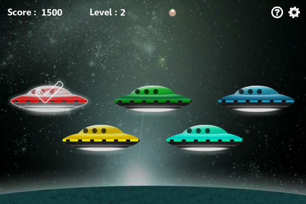 Five UFOs screenshot