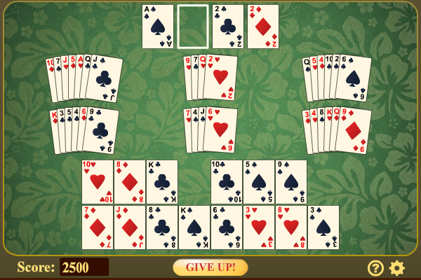 Click to view Flower Garden Solitaire screenshots