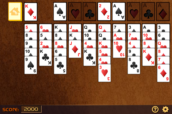 forty thieves solitaire novel games