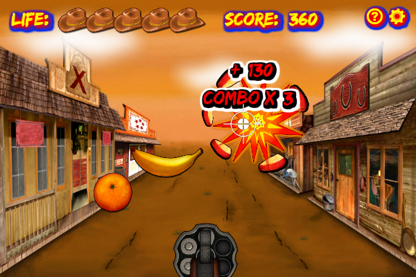 Click to view Fruit Cowboy screenshots