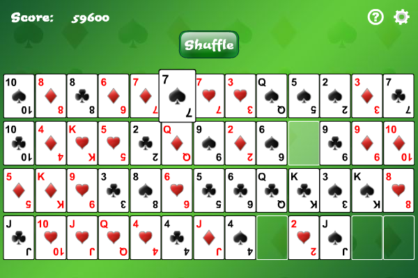 Click to view Gaps Solitaire screenshots
