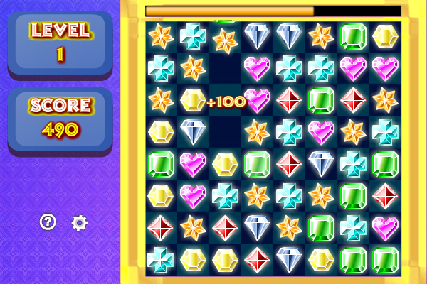 Click to view Gems Swap screenshots