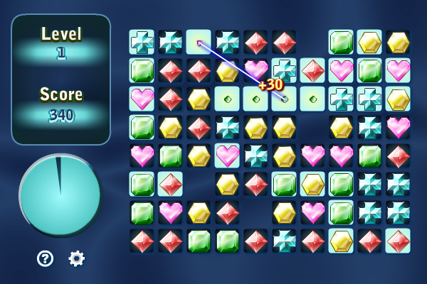 Click to view Gems Swap III screenshots