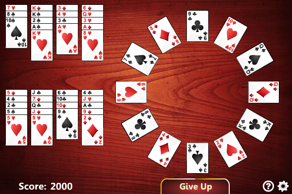 Click to view Grandfather's Clock Solitaire screenshots