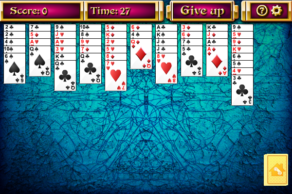 Click to view Grounds for a Divorce Solitaire screenshots