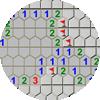 7각형 지뢰찾기