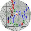 16각형 지뢰찾기