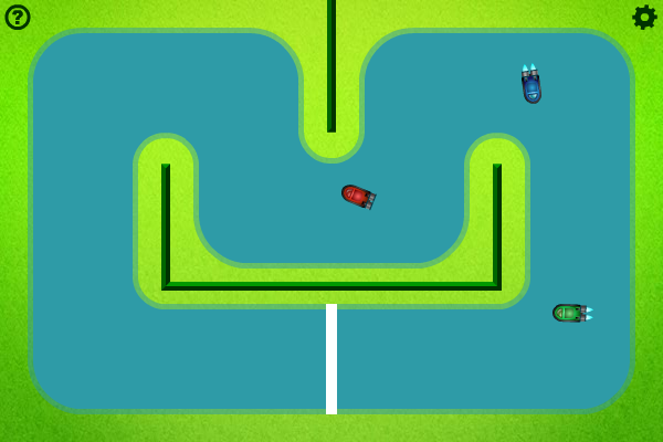 Screenshot of Hovercraft Racing