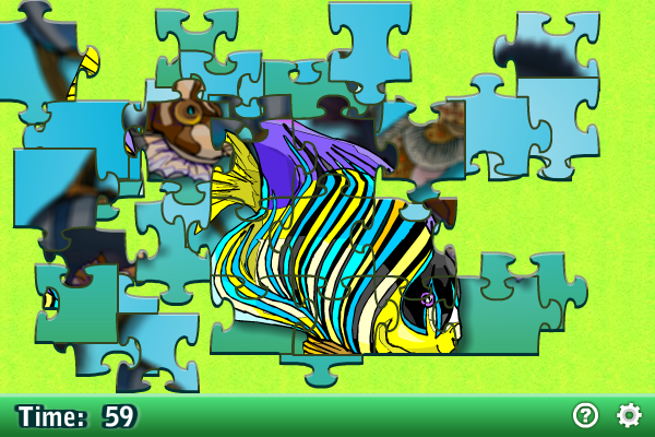 Screenshot of Jigsaw Puzzle