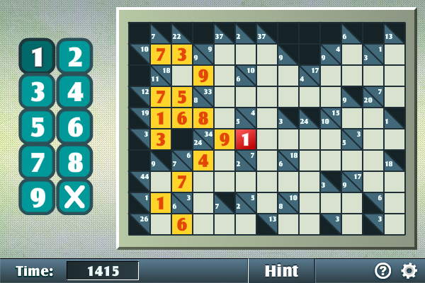 Solve the randomly generated crosswords with