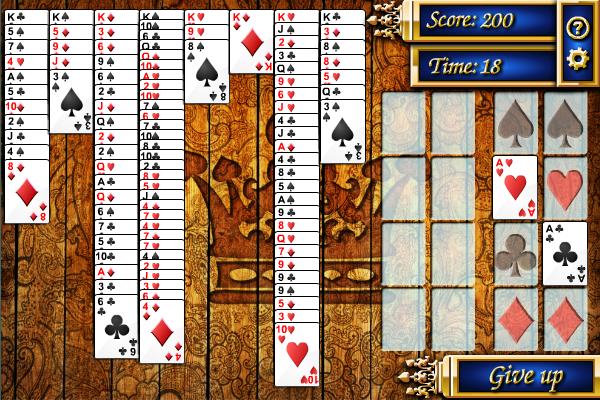 Kings Solitaire full screenshot